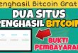 Situs ini membayar bitcoin setiap ada yang daftar