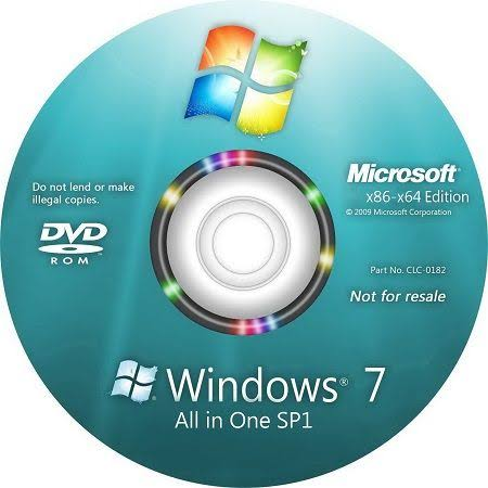 Menjadikan windows 7 SP1 tanpa install file update windows