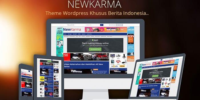 newkarma theme 700x350 - Newkarma Wordpress Theme Berita Mirip Detik.Com