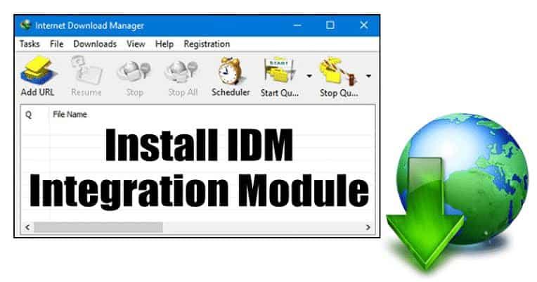 cara mengatasi tombol download idm tidak muncul di chrome