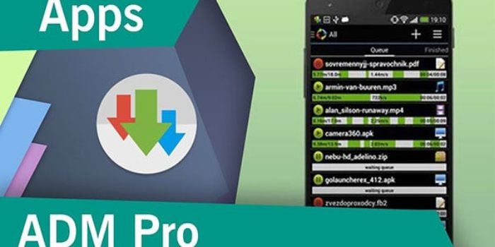 download ADM Pro APK adalah aplikasi download manager untuk android yang cukup populer dan mendapat rating 4.6 dari 5 . Advanced download manager atau sering disebut ADM, ini cara kerjanya mirip IDM di PC. Aplikasi ini secara otomatis mengambil file dan tautan yang dapat diunduh dari browser yang didukung
