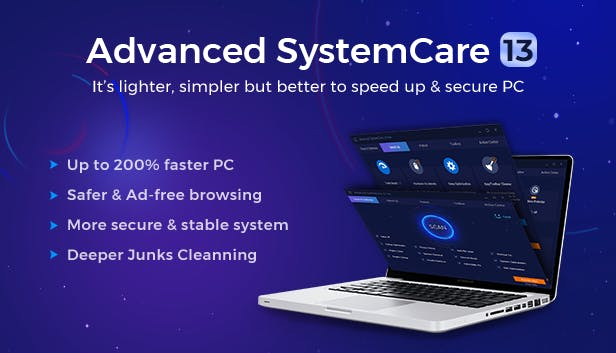 Advanced SystemCare Pro key 13.1 terbaru