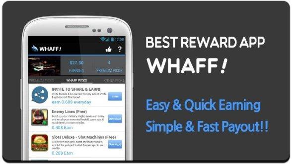 whaff aplikasi pencari uang android gratis