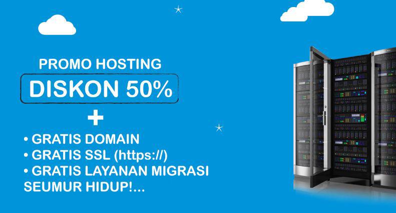 promo hosting maret
